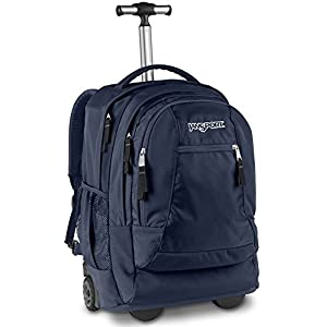 Jansport Driver 8 Wheeled Backpack (Navy)