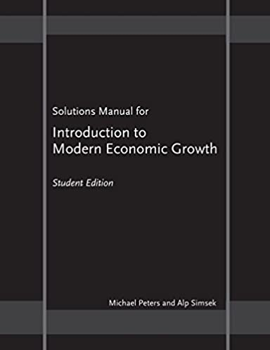 solutions manual for introduction to modern economic growth rh amazon com introduction to modern cryptography second edition solutions manual pdf Modern Cryptography Equation