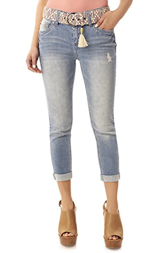 Stretch Crop Jeans - 2