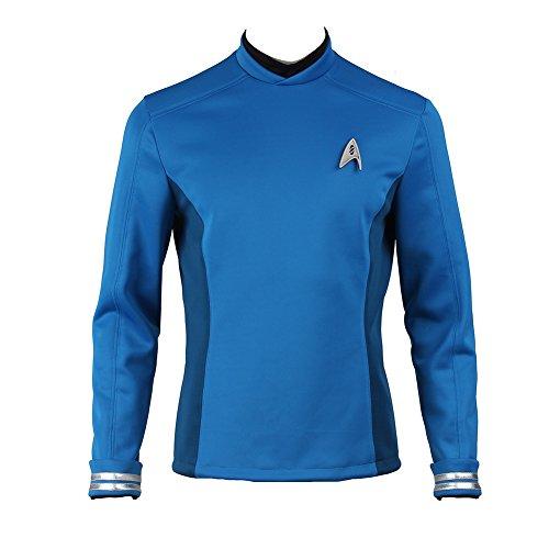 Manles Men's Star Trek Beyond Spock Cospaly Costume Large