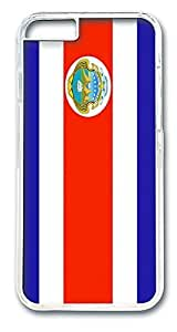ACESR Costa Rica Flag Rugged iPhone Case PC Hard Case Back Cover for Apple iPhone 6 4.7inch