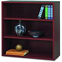 Safco Products 9440MH Apres Modular Storage Open Bookcase, Mahogany