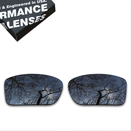 (ToughAsNails Polarized Lens Replacement for Oakley Double Edge Sunglass - Black)