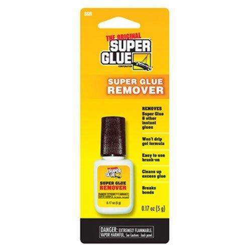 SUPER GLUE CORP/PACER TECH SGR Glue Remover Gel, 5g by Super Glue