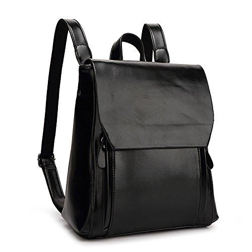 Female Shoulder Bag Travel Bag Bag College Student Backpack Bag Black Backpack