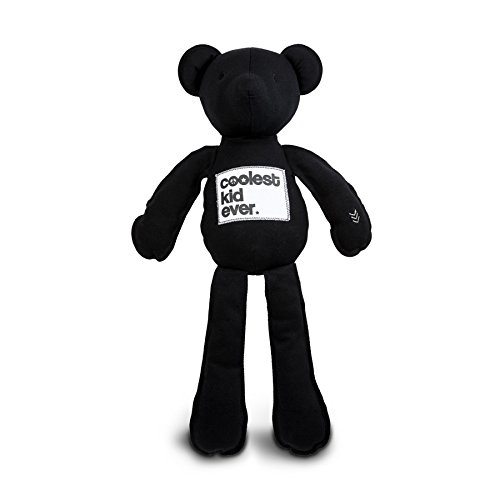 AMY COE Coco Bear Plush, Black - North American Black Bear