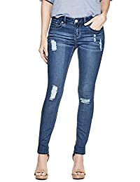 Guess Factory Women's Cindy Power Skinny Jeans