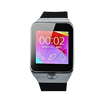 Meily(TM) M6 Bluetooth Smart Wrist Watch Phone Mate For IOS Android Samsung