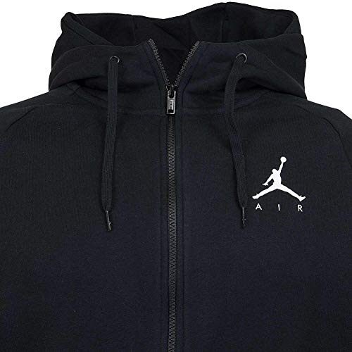 shirt Homme Nike Fz white Noir 010 Sweat black Fleece Jumpman vZwvI