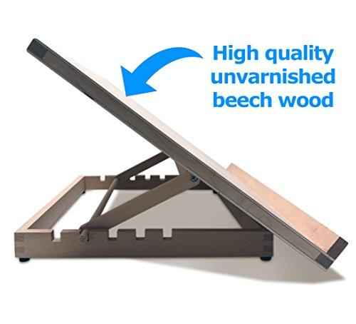 -[ PABLO® - Premium A3 Art & Craft Work Station - A3 Adjustable Wooden Desk / Table Easel /