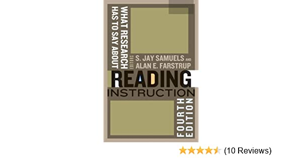 Amazon What Research Has To Say About Reading Instruction Ebook