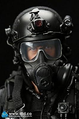 Dragon in Dreams DID 1//6 Modern US Pilote LAPD SWAT LOS ANGELES POLICE