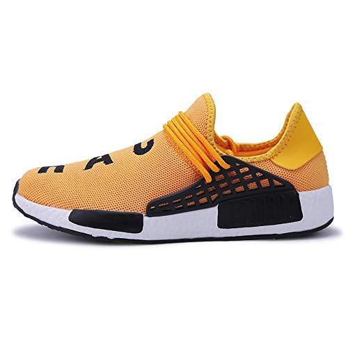 Yellow Outdoor Hombres Calzado Deportivo Zapatos Superstar Zapatillas Zapatos Ultra Human WDDGPZYDX Casual Tenis Zapatillas Race Raises Transpirables XaTSqwnq