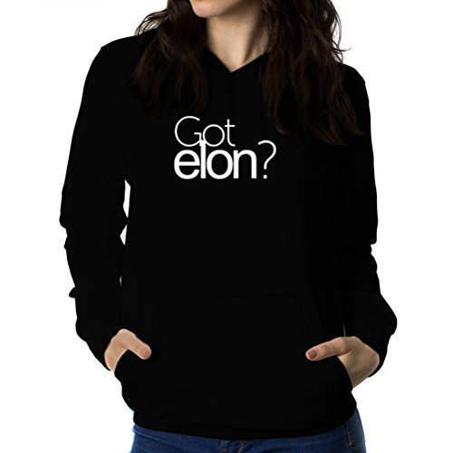 洗練達成する提案Got Elon? 女性 フーディー