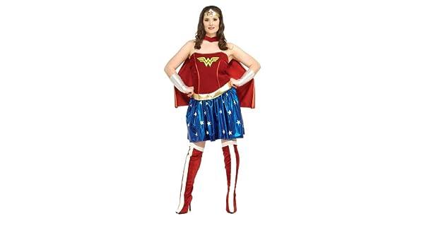 979a08b1af793 Amazon.com  R17440 (Plus 14-16) Wonder Woman  Clothing
