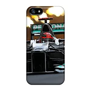 Diy Yourself case Protector For Iphone 5/5s F1 Mercedes Ov91XsjOfTX Petronas case cover