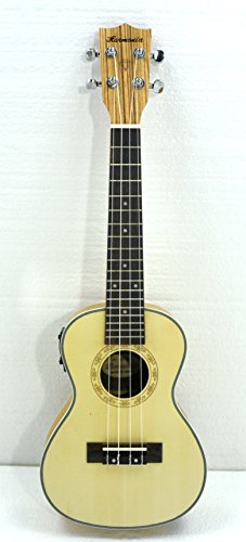 Concert Electric Ukulele 24'' Built-In Tuner by Harmonia