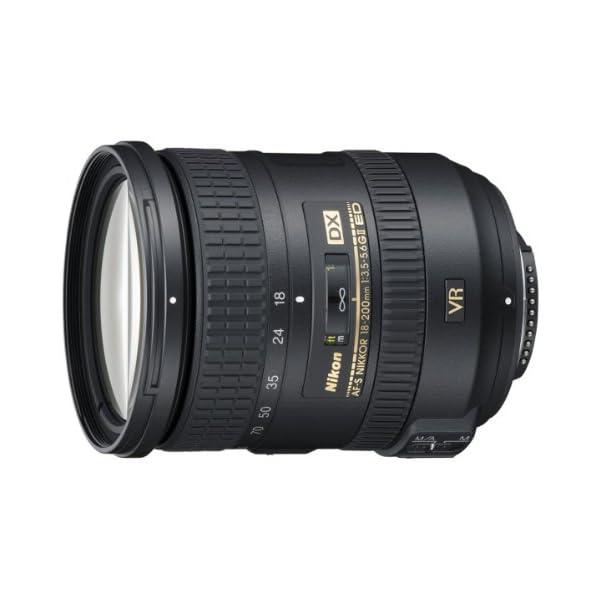 RetinaPix Nikon AF-S DX Nikkor 18-200mm f/3.5-5.6G ED VR II Telephoto Zoom Lens for Nikon DSLR Camera
