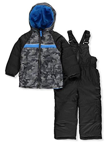 iXtreme Boys' Little Active Colorblock Snowsuit, Gray, 4