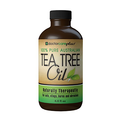 - Tea Tree Oil - 100% Pure ATTIA Certified, Essential Oil from Australia (4 oz) - Superior Grade Especially For: Skin Tags, Acne, Fungus, Odor, Lice, Shampoo, Antiseptic, Eczema, Cuts, Burns and