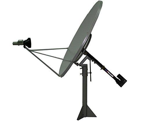 4ft (1.2m) Ku Band Solid Polar Mount Satellite TV Dish