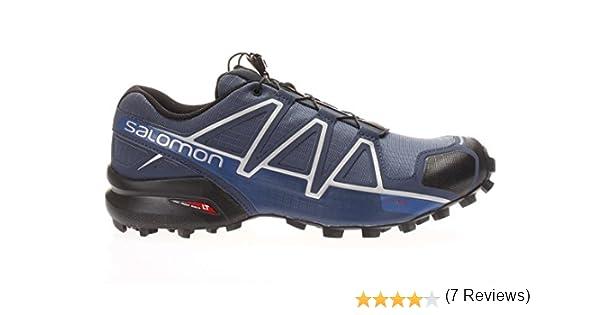 Salomon SPEEDCROSS 4 AZUL NEGRO 383136: Amazon.es: Zapatos y ...