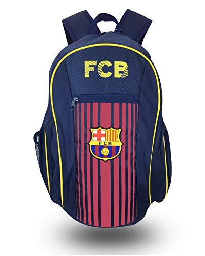 FCB Barcelona Backpack, Official Barcelona School, Mochila, Book Bag Cinch, Shoe Bag, Soccer Ball Backpack