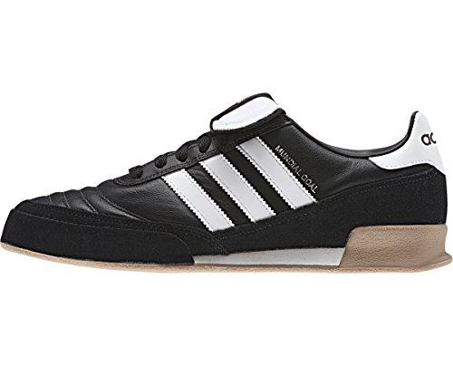 - adidas Performance Men's Mundial Goal Soccer Cleat,Black/White/White,9.5 M US