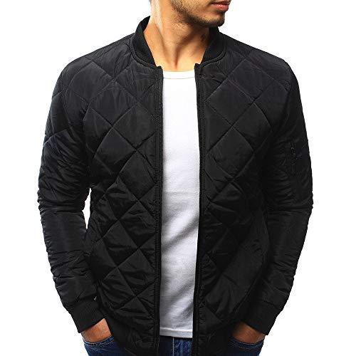 Men's Casual Warm Coat Slim Fit Casual Jacket Outerwear Top Coat ()