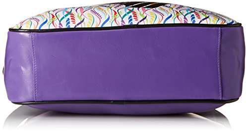 Gola Redford Floral Cluster, Borsa a spalla donna Multicolore Mehrfarbig (Violet/Black/Multi) 29x39x13 cm (B x H x T)