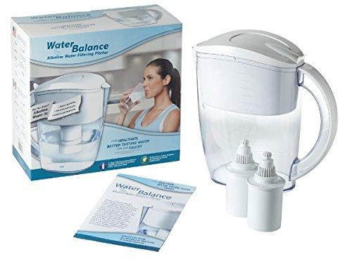 Water Balance Alkaline Water Filtering Pitcher Ionizer Ph Balancer