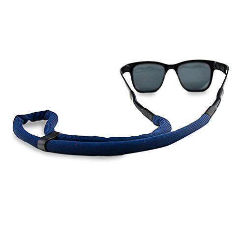 1deeab20cad8 Luxe Performance Floaters - Premium Floating Adjustable Sunglasses Strap &  Eye wear Retainers (Blue)