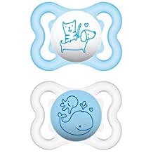 MAM 66667411 Air Silicone Soother 0 - 6 Months for Boys