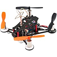 ANNONGONE 95mm Super lightweight Micro Carbon Fiber Bind-N-Fly BNF Quadcopter