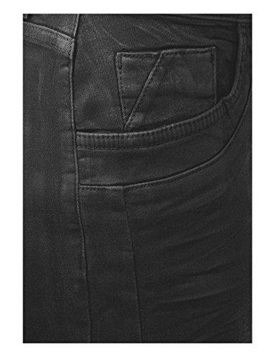 Slim Denim Street Nero Coating Donna One Jeans Part 11174 black Z7ZwEgvYq