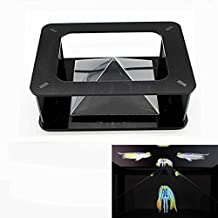 Esimen Magic Box 360 3D Holographic Projection Pyramid for 3.5 - 6-Inch Smartphones