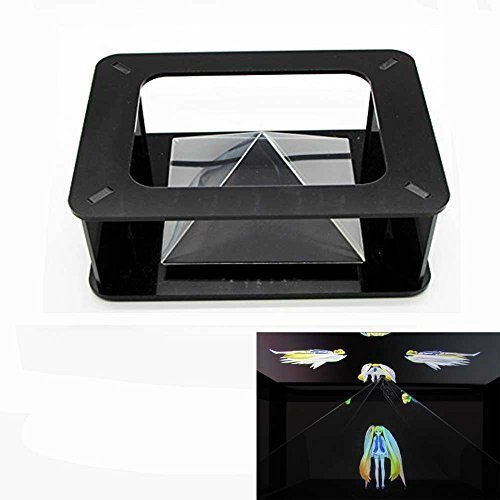 Esimen Magic Box 360 3D Holographic Projection Pyramid for 3.5 - 6-Inch (Cell Phone Hologram)