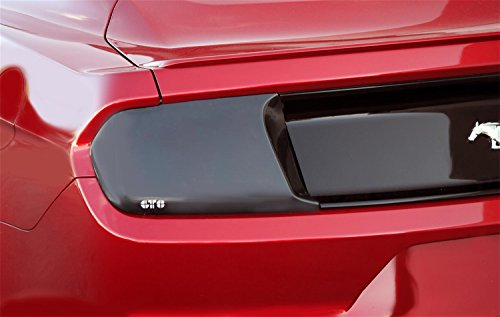 GT Styling GT4994 BlackOut Taillight Covers Smoke 2 pc. BlackOut Taillight Covers