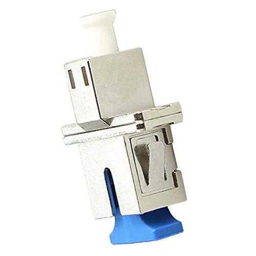 Baosity SC to LC Single Mode Metal Housing Fiber Optic Adapter SC-LC Flange Coupler