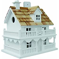 Home Bazaar Hand-made Novelty Cottage Bird House - Bird Friendly Home Decor