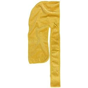 Ecomforlyfe The Mane Durag Yellow Velvet Durag For 360