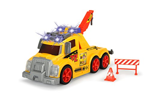 - Dickie Toys Light and Sound Tow Truck