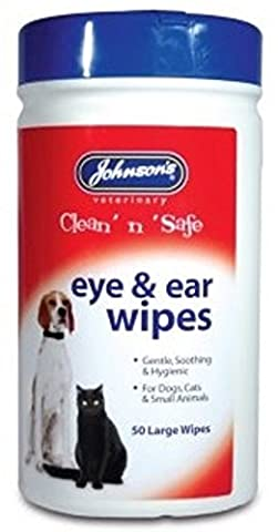 Eye & Ear Cleaning Wipes For Cats