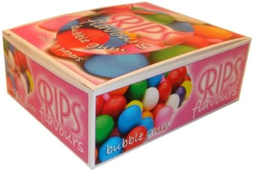 Material de papel de fumar chicles sabor 24 rollos caja llena por Makbros: Amazon.es: Hogar