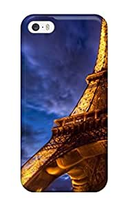 Design High Quality Beautiful Eiffel Tower Paris Widescreen S Cover Case With Excellent Style For Iphone 5/5s