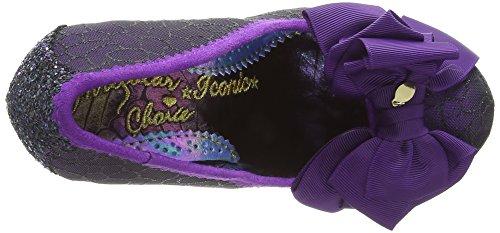 Escarpins Black Violet Femme Choice Noir Bout Irregular Purple Ah Fermé Ascot EPwFqFfa