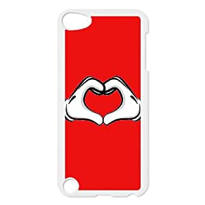 Mickey Mouse iPod Touch 5 Case White DIY Gift pxf005-3716924