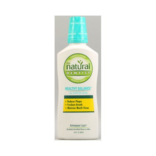 - Natural Dentist Healthy Balance All Purpose Rinse Peppermint Sage - 16.9 fl oz by Natural Dentist