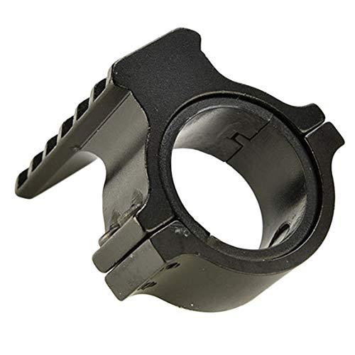 noir haute canon Picatinny 25mm de rail pour sur 20mm 30mm Weaver avec de portée 1inch Adaptateur à anneau montage performance ETSFZFq