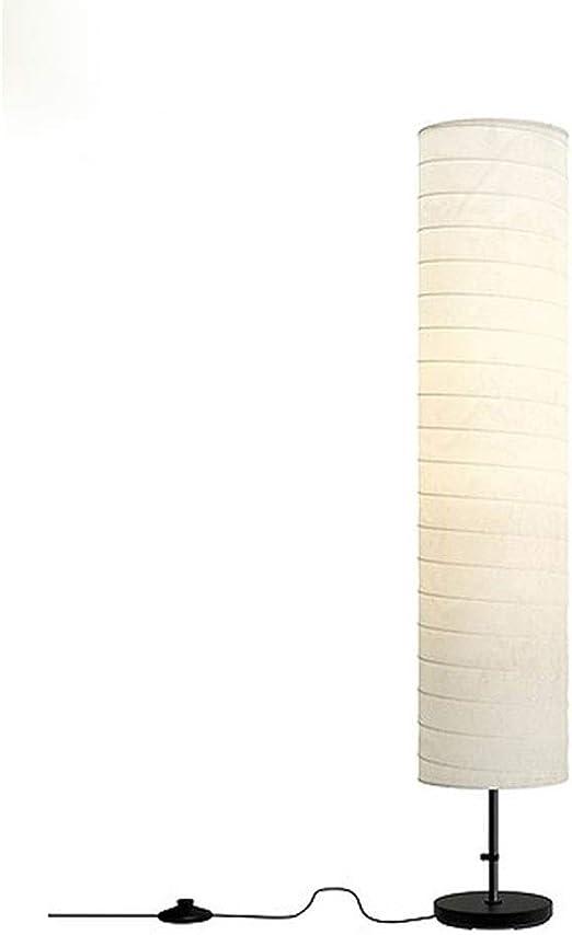 Lámparas de Pie Lámpara Vertical Piso Lámpara de pie Lámparas de Papel nórdicas Moderna Minimalista Lámpara de pie for el hogar Sala de Estar Estudio Dormitorio Pantalla: Amazon.es: Hogar